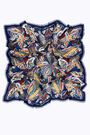 Chal pájaros azul marino