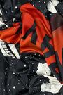 Pañuelo fondo astronautas negro