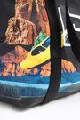 Bolso shopper XXL nylon Space City print