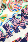 Pañuelo mariposas multicolor