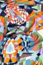 Pañuelo geometría caleidoscopio